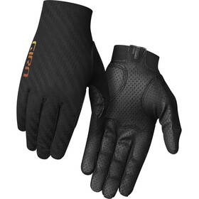 Giro Rivet CS Guantes, black/heatwave